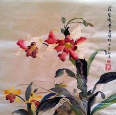 Orchid Ms. NG Man Yi 2014 40 x 100