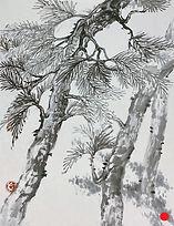 A Pine Garden 小松林 #MCP08-01