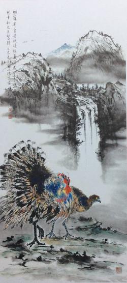 馮明釗 - 吐綬鳥