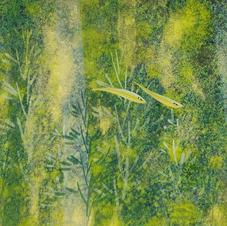 綠意盎然 (一)  黃家偉 2020 15 x 45 cm