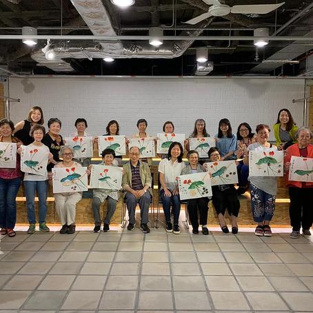 2019 May - Art Workshop for the Elderlies