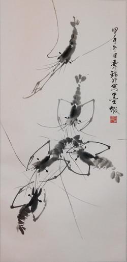 黃錦綸 - 趣蝦圖