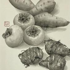 Precious Food - Autumn Food Ms. Emily LAW 2020 28 x 35 cm
