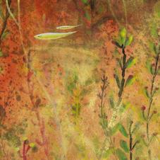 浮翠流丹(二) 黃家偉 2020 15 x 45 cm