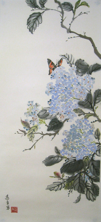 Hydrangea in a Slient May 處靜