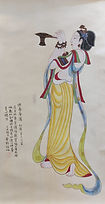 Dunhuang painting 2 供養菩薩 #KL214