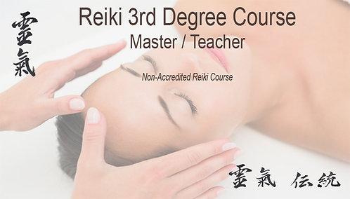 Reiki 3rd degree 20% deposit. Course starting 7th June 2021