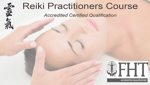 Reiki Practitioner Course 20% Deposit 18th 19th September 2021