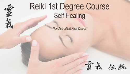 Reiki 1st degree 20% deposit. Course 10th 11th July 2021