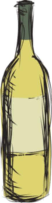 PASTA ANDREA Bouteille vin blanc