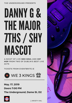Danny G & the Major 7ths/Shy Mascot