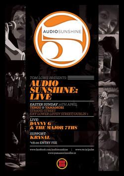 Audio Sunshine Show gig