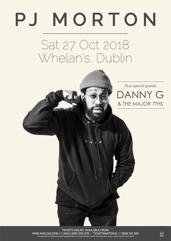 PJ Morton 2018 Danny G
