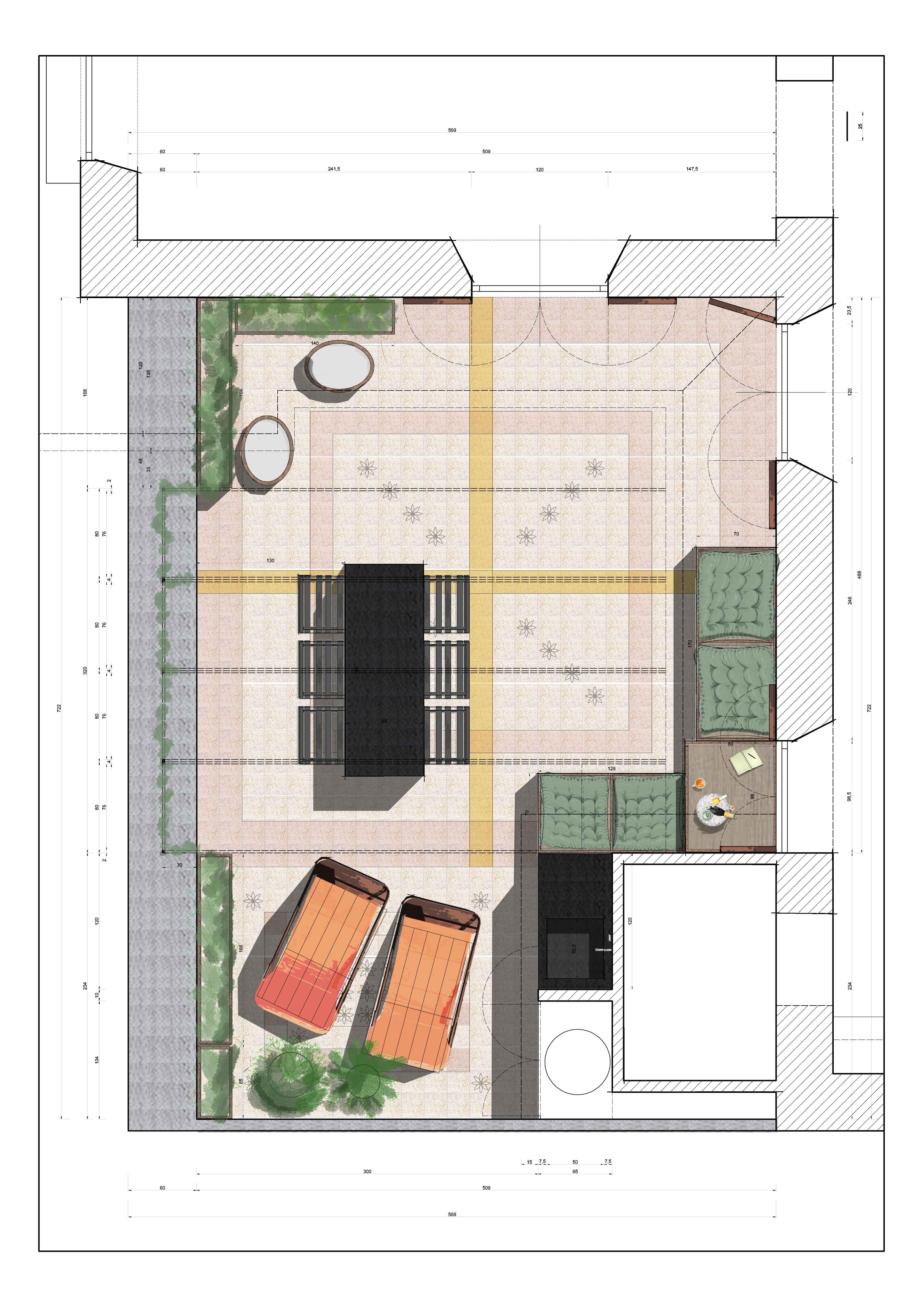pianta piano VI terrazzo