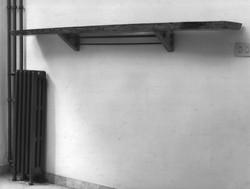 shelf and radiator