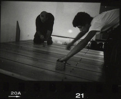 assembling bed (14)