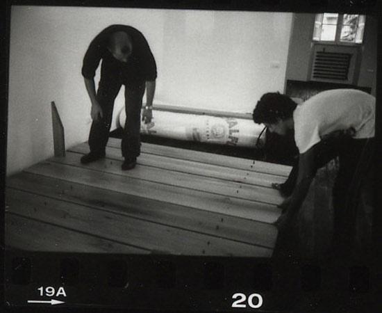assembling bed (13)