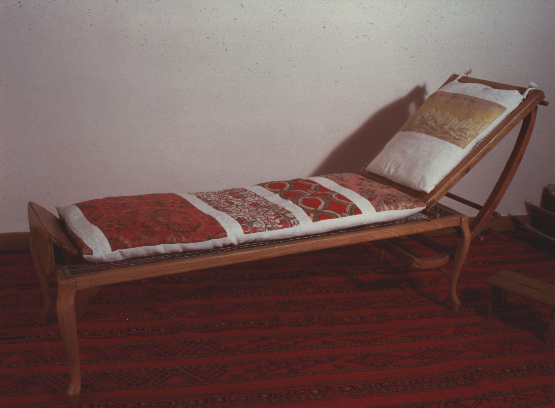 deckchair tibidabo with pillow