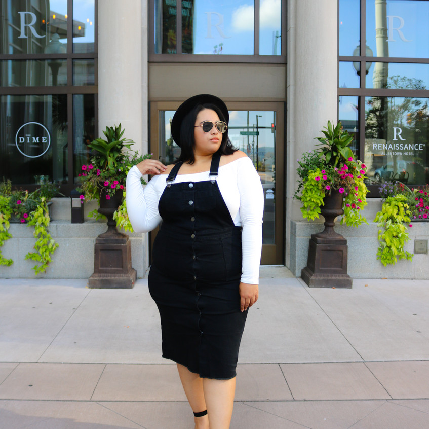 Plus Size Overall