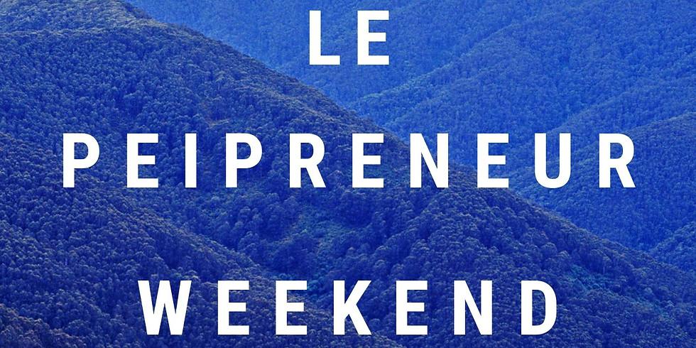 Le Péïpreneur Weekend Workshop
