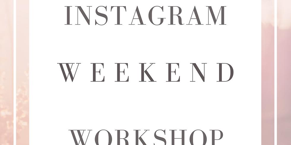 Instagram Weekend Workshop