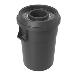 Round Lid and Can