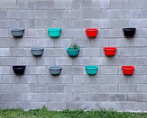 jardin de pared