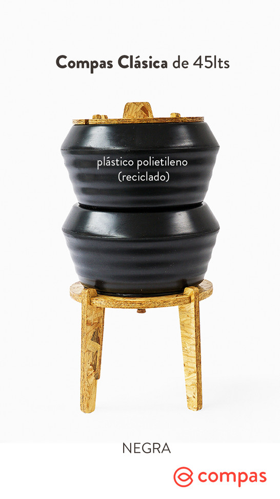 Negra (reciclada)