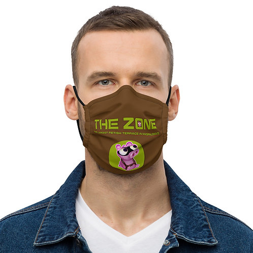 Mask The Zone brown logo camo