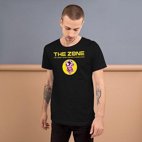 T-shirt black logo yellow