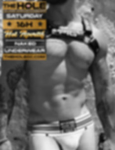 The Hole cruise bar Maspalomas, every saturday afternoon 16h: Hot Aperitif, Dresscode: naked, underwear