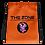 Thumbnail: Drawstring bag The Zone orange logo black