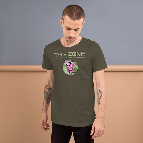 T-Shirt army logo camo green