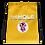 Thumbnail: Drawstring bag yellow logo white