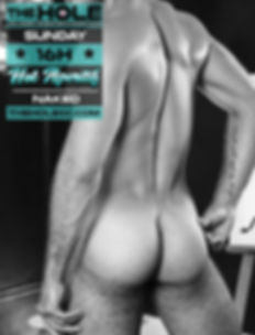 The Hole gay sex bar gran canaria, every sunday afternoon 16h: Hot Aperitif, Dresscode: Naked
