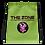 Thumbnail: Drawstring bag The Zone green logo black