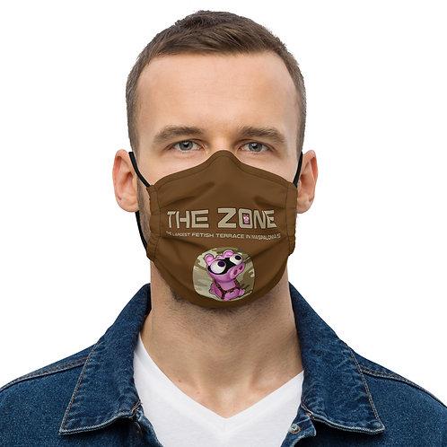 Mask The Zone brown logo camo