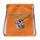 Thumbnail: Drawstring bag orange logo camo green