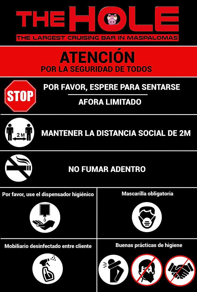covid rules The Hole spanish website.jpg