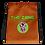 Thumbnail: Drawstring bag The Zone brown logo green