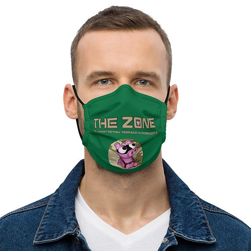 Mask The Zone green logo camo
