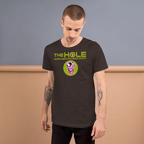 T-Shirt braunes Logo Camo