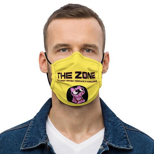 Mask The Zone yellow black logo