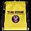 Thumbnail: Kordelzug Tasche Das Zone gelbe Logo schwarz