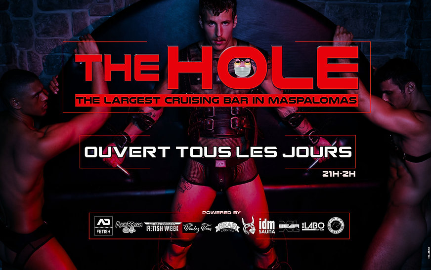 flyer The Hole red june 2021 website fre