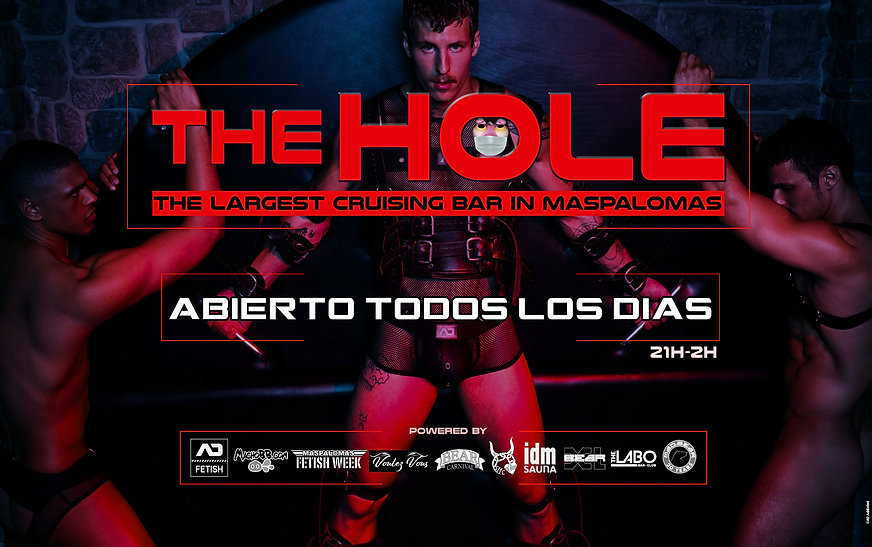 flyer The Hole red june 2021 website spa