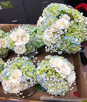 Get into these baby shower centerpieces!