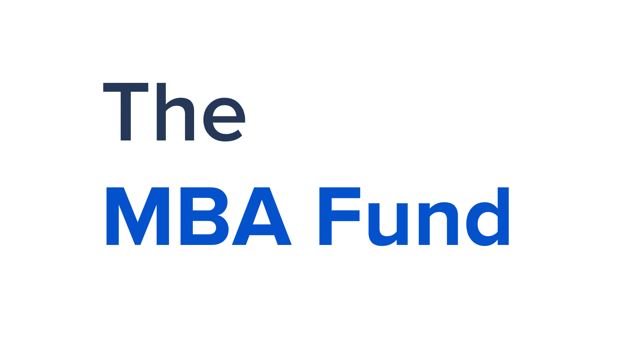 Image result for the MBA fund