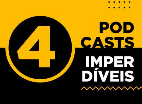 4 podcasts imperdíveis para aprender e se inspirar