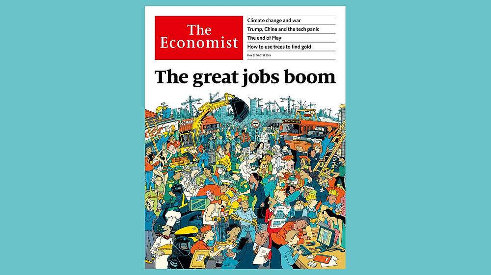 Capa da The Economist em 23 de Maio de 2019.
